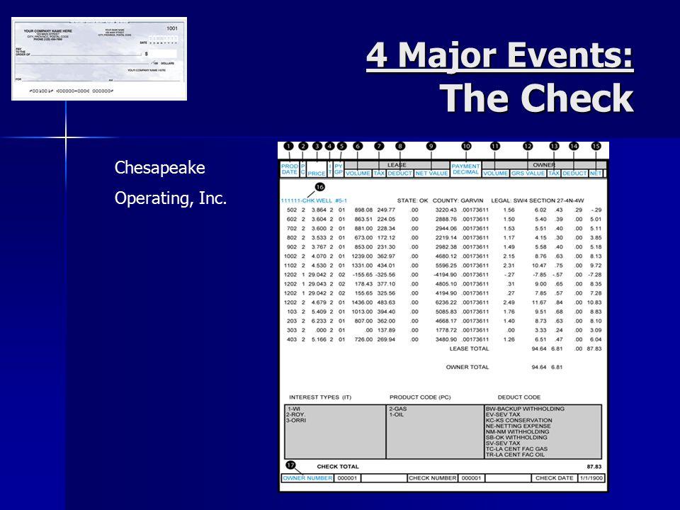 Chesapeake Operating, Inc.