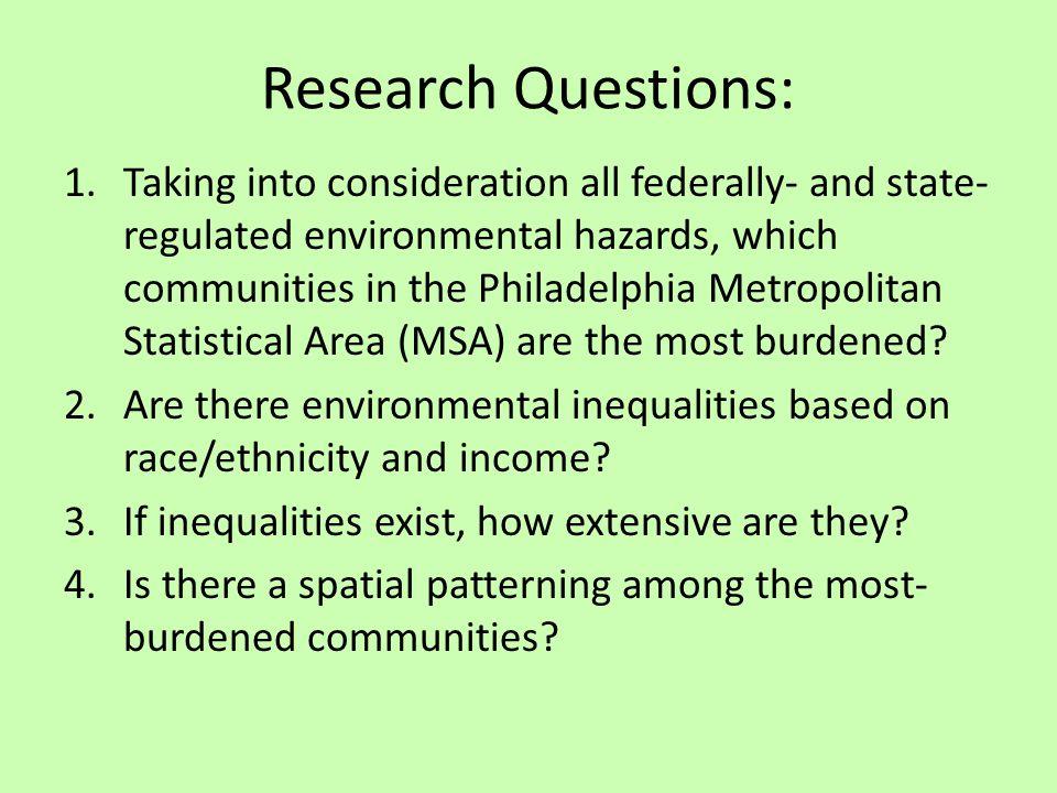 Study Area: Philadelphia MSA 369 Communities (357 townships, boroughs & cities; 12 Phila Planning Analysis Areas)