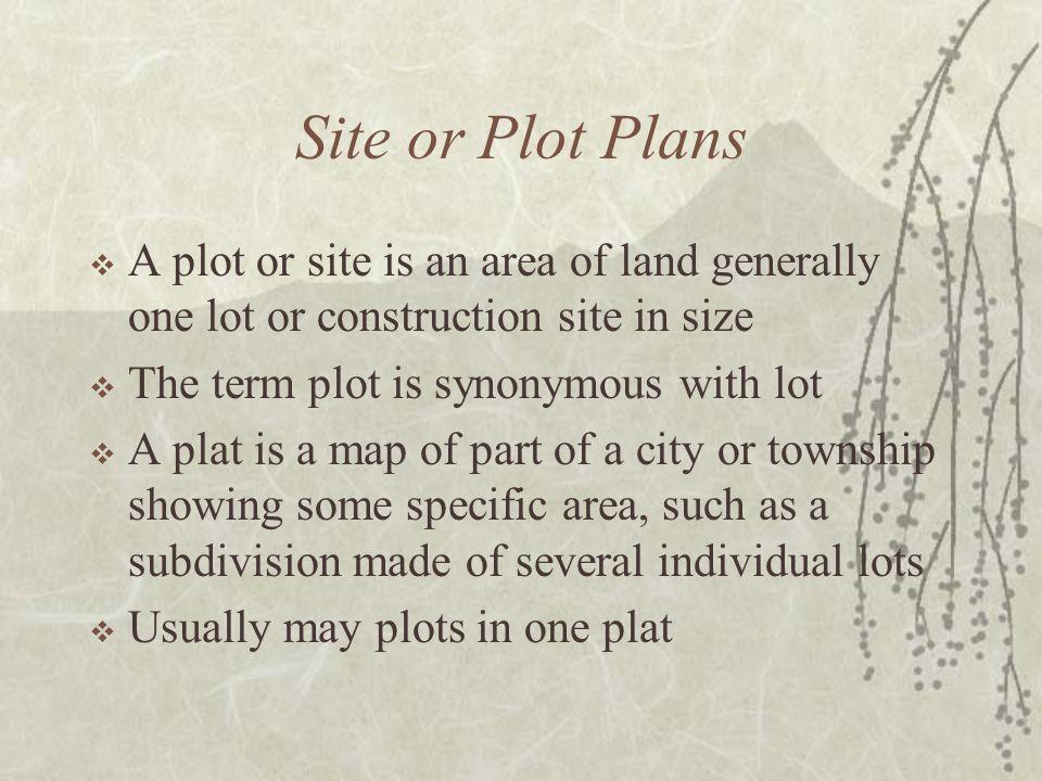 Rectangular System  Example of Plot Plan