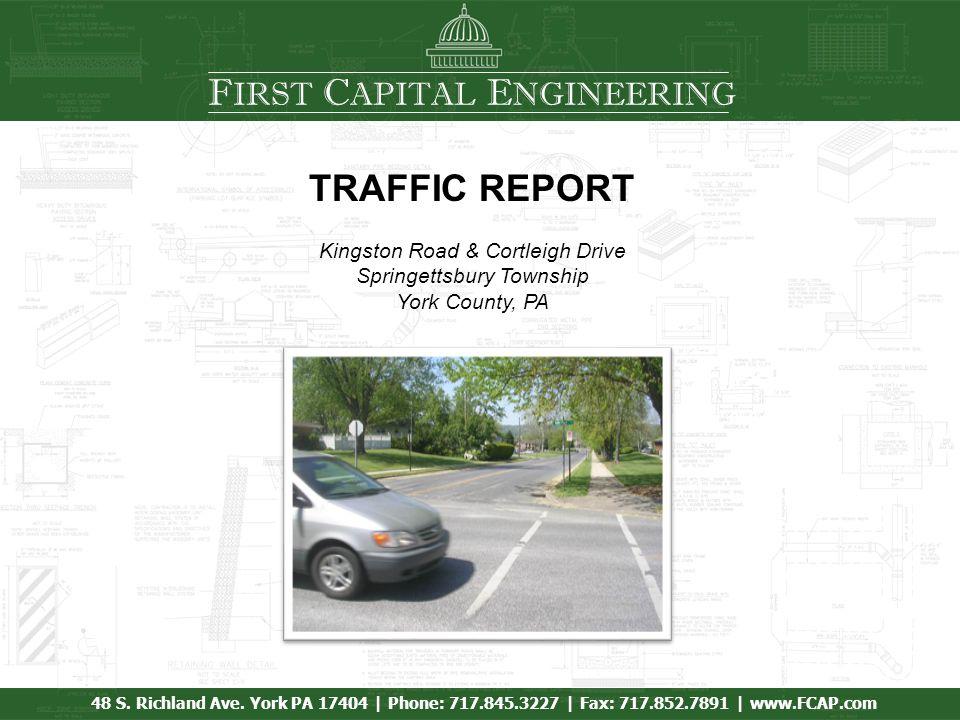 F IRST C APITAL E NGINEERING 48 S. Richland Ave.