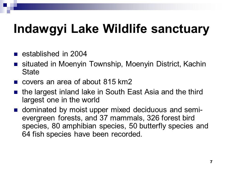 8 Inlay Lake Wildlife Sanctuary