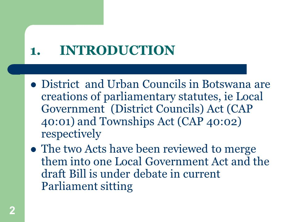 13 POLICIES GOVERNING OPERATIONS OF COUNCILS Cont…..