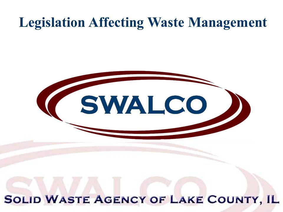 Legislation Affecting Waste Management