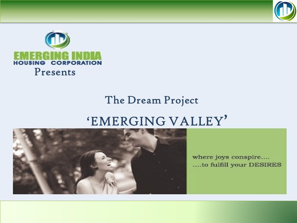 Presents The Dream Project 'EMERGING VALLEY '