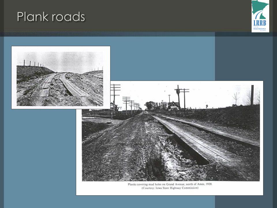 Plank roads