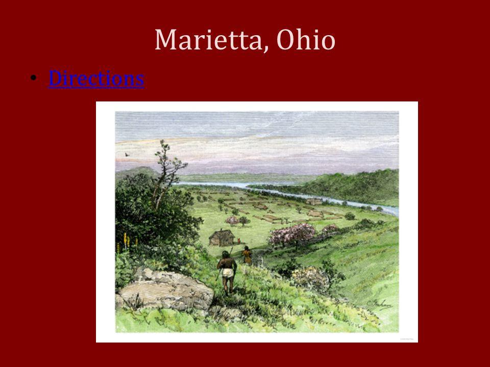 Marietta, Ohio Directions