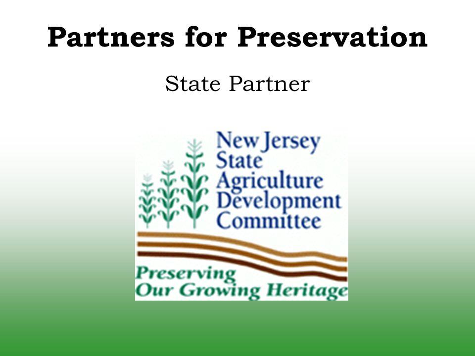 Partners for Preservation State Partner