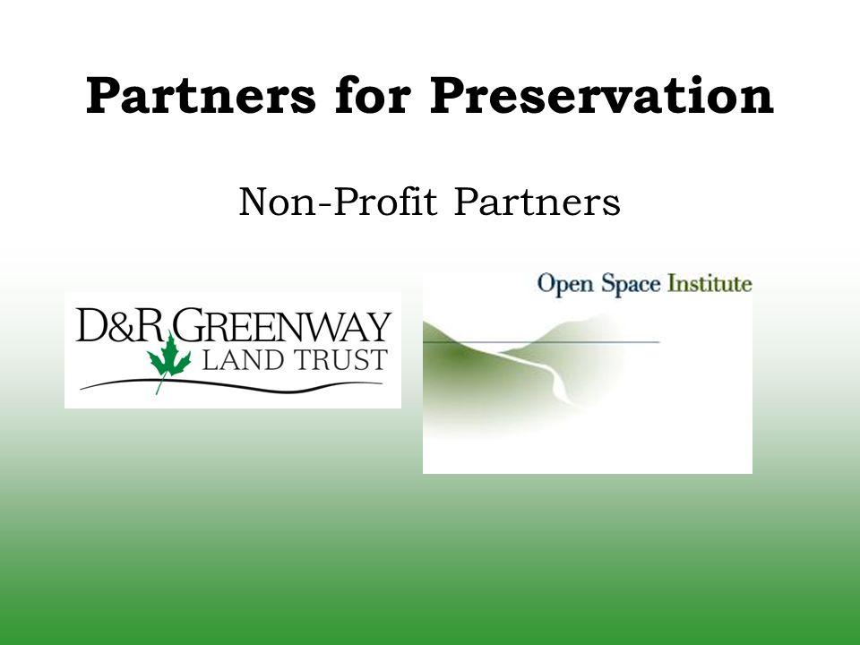 Non-Profit Partners Partners for Preservation