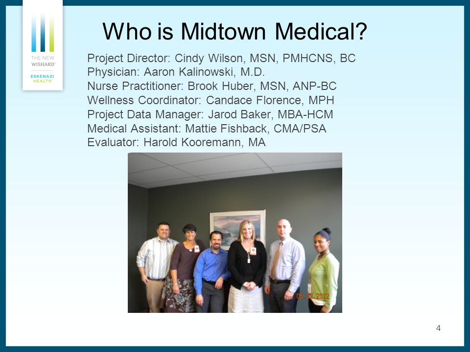 4 Who is Midtown Medical.