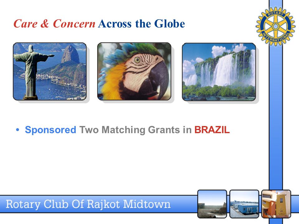 Care & Concern Across the Globe Sponsored Two Matching Grants in BRAZIL