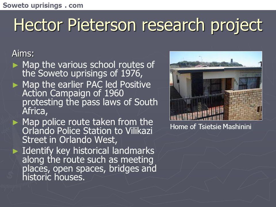 Soweto uprisings.