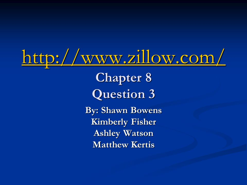 What is zillow.com.