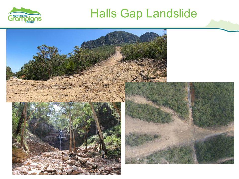 Halls Gap Landslide