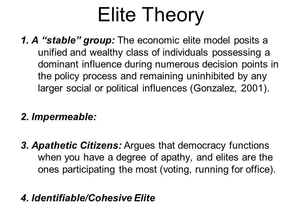 Elite Theory 1.