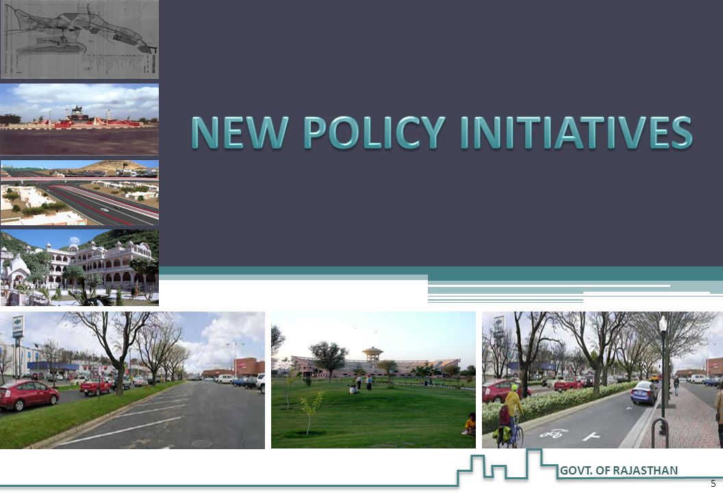 IMPORTANT INITIATIVES - URBAN DEVELOPMENT POLICIES  Affordable Housing Policy – 2009 – Focus on EWS/LIG housing  Township Policy 2010 – To promote integrated townships in private sector  Slum Development Policy 2012 - PPP Model for Redevelopment of Slums  Mass Housing Project in about 50 cities / Towns  Policy for Transferable Development Rights-2012 (TDR)– To facilitate land acquisition in lieu of FAR  Master plans for all cities/Towns 6