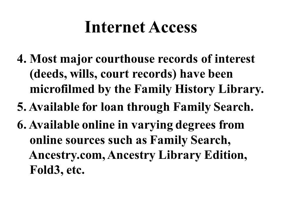 Internet Access 4.