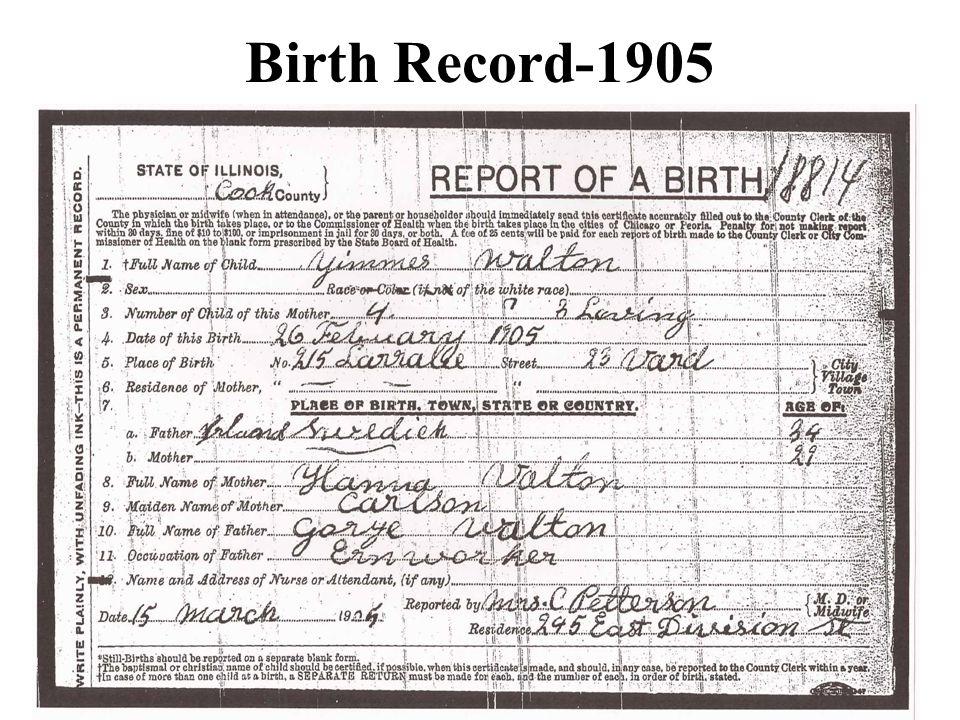 Birth Record-1905