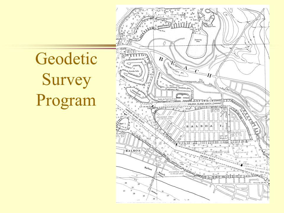 14 Geodetic Survey Program