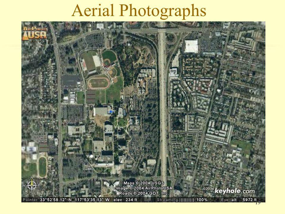 19 Aerial Photographs