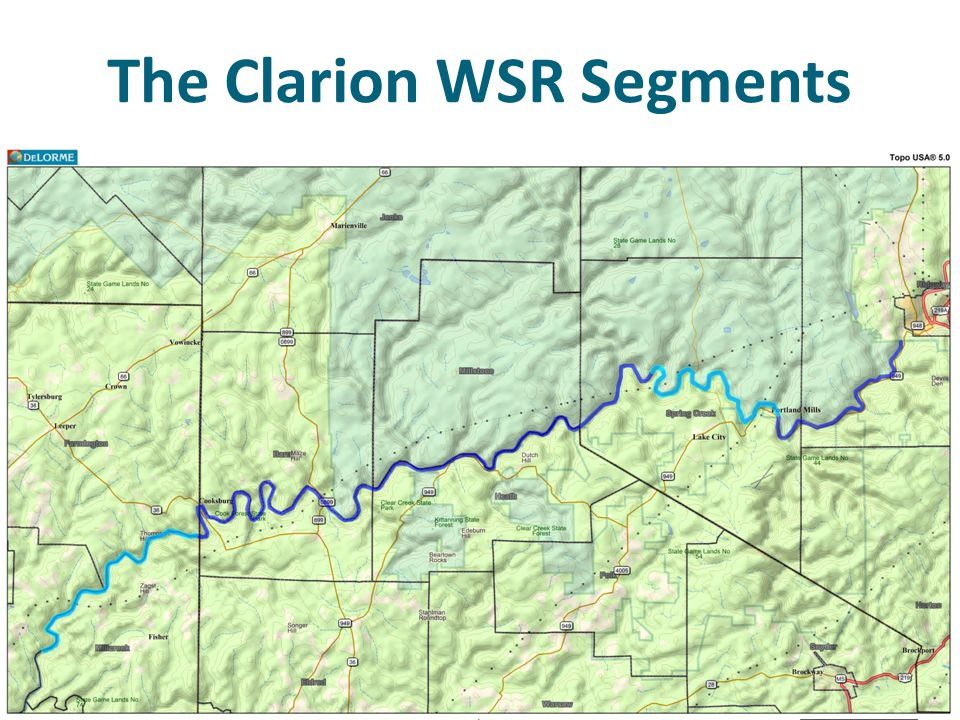 The Clarion WSR Segments