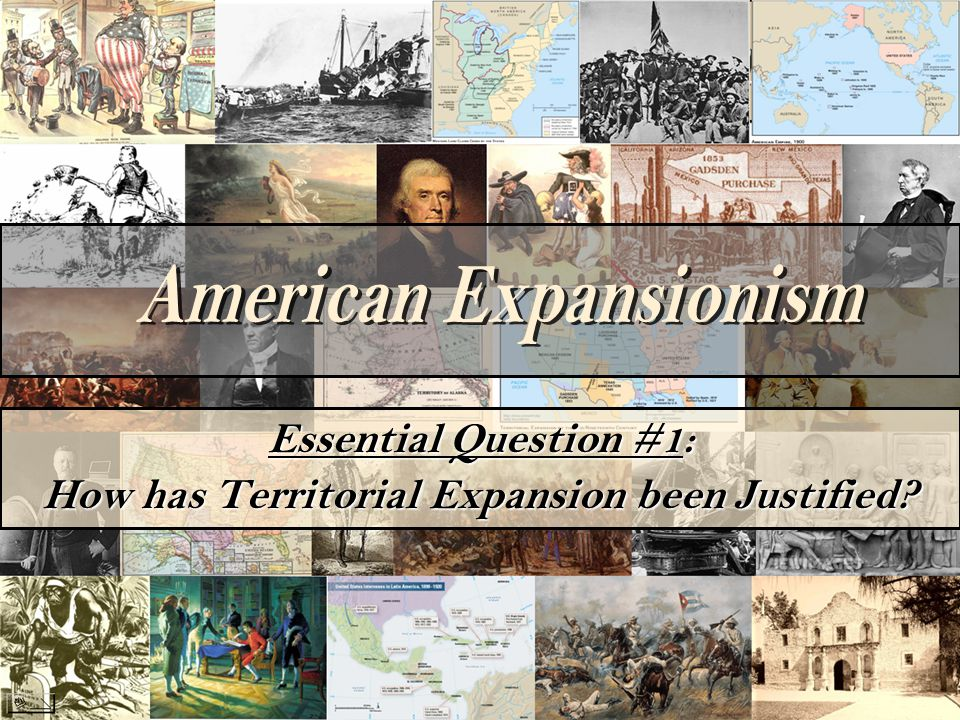 What responsibility does America have towards the inhabitants of a newly acquired territory.