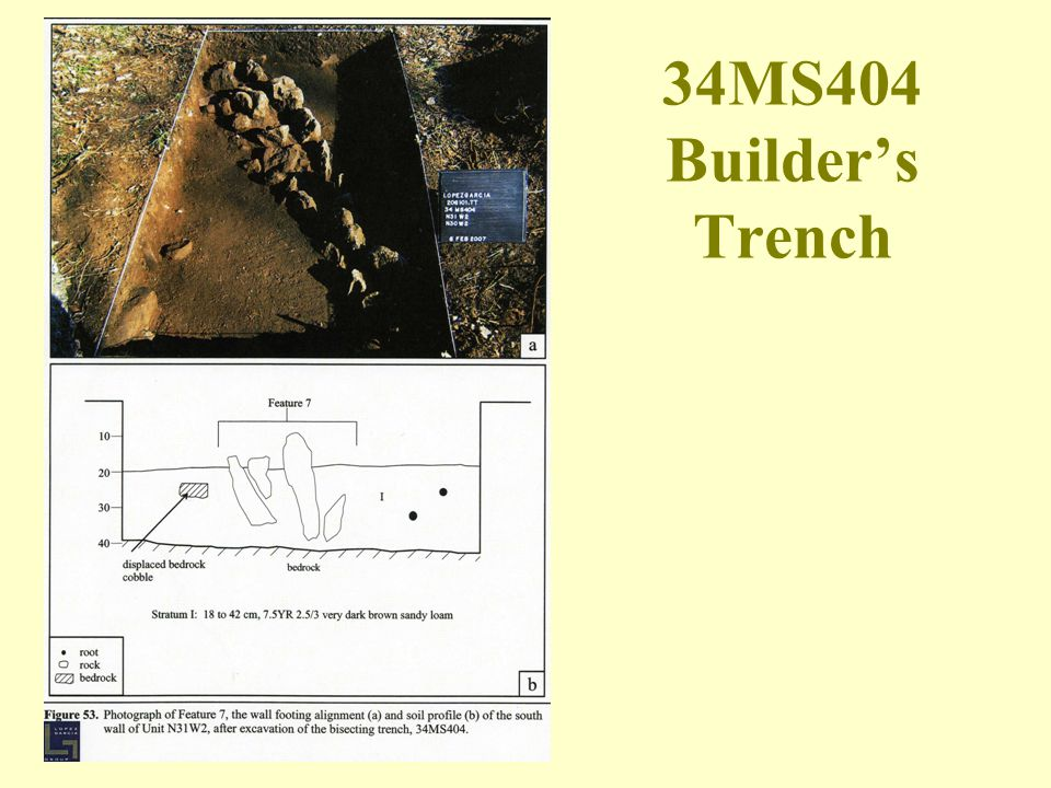 34MS404 Builder's Trench