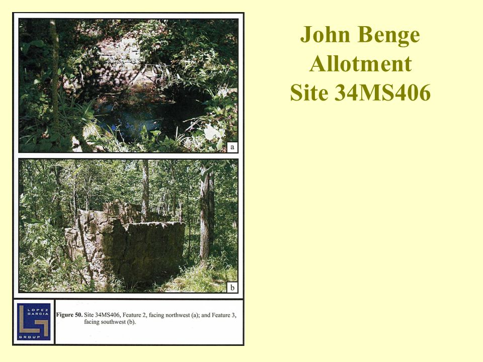 John Benge Allotment Site 34MS406