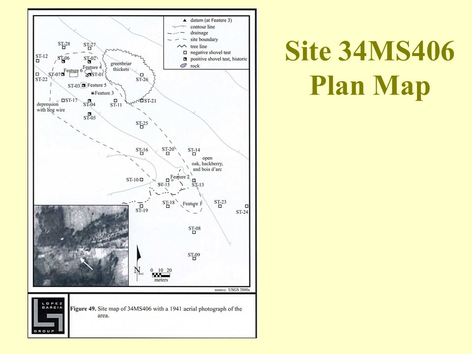 Site 34MS406 Plan Map