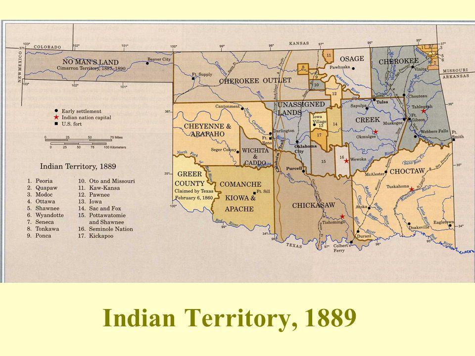 Indian Territory, 1889