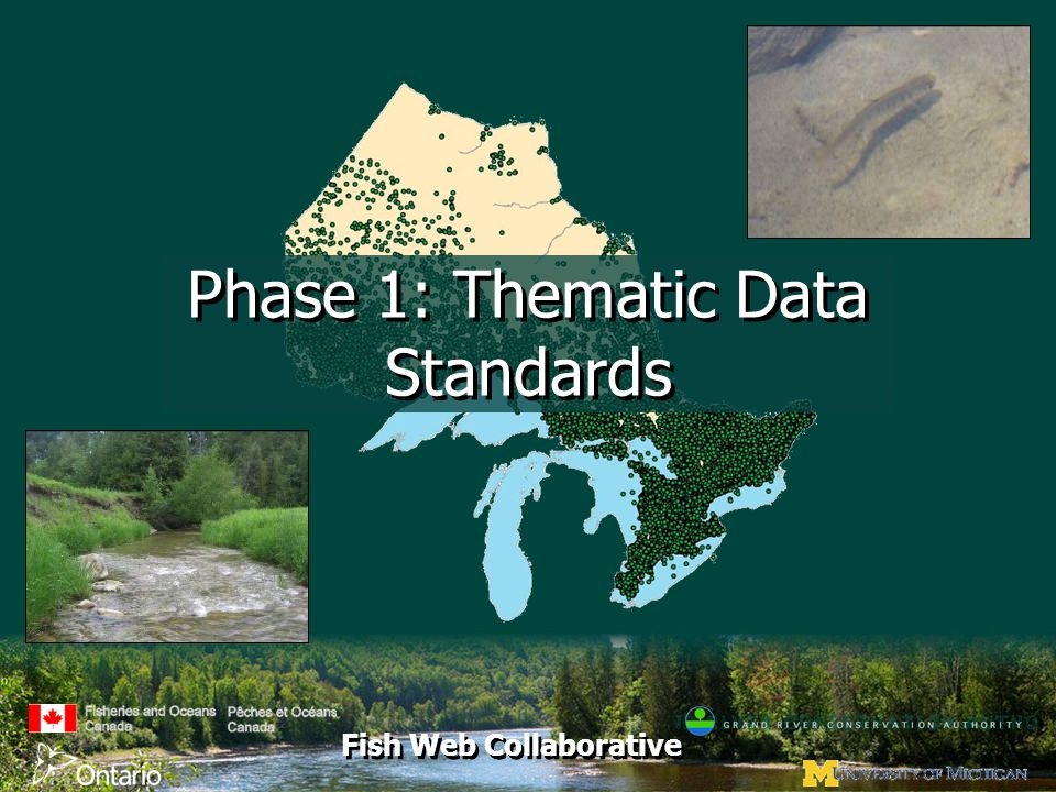 Fish Web Collaborative Phase 1: Thematic Data Standards