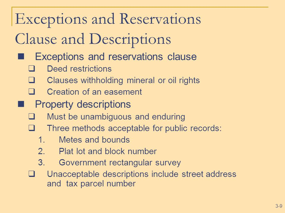 3-20 The Meaning of Title Title: Collection of evidence indicating a particular person(s) as holder of the fee Title search: Examining public records to construct chain of title Chain of title: the sequence of conveyances passing ownership down through time