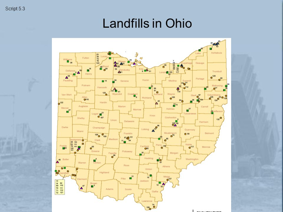 Landfills in Ohio Script 5.3