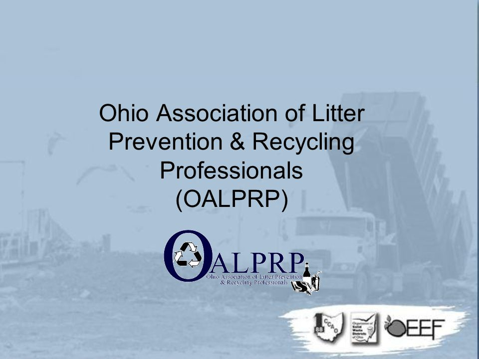 Ohio Association of Litter Prevention & Recycling Professionals (OALPRP)