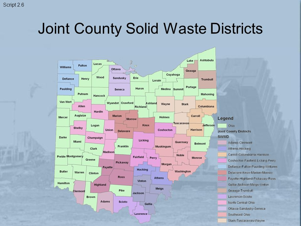Joint County Solid Waste Districts Script 2.6