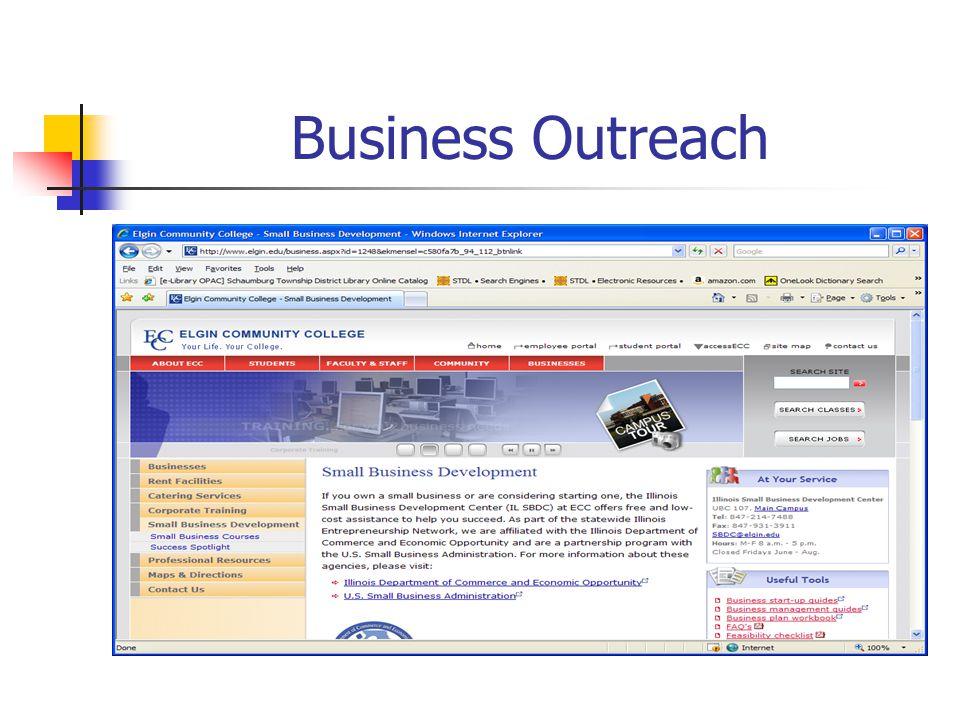 Business Outreach