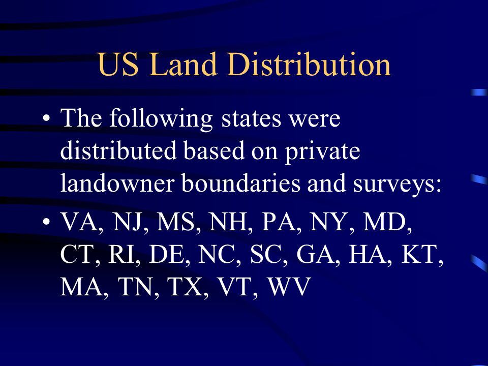 Lesson Closure Discuss the history of land surveying Identify the township/land grid system Analyze various land measurements and relate them to previously learned lesson materials