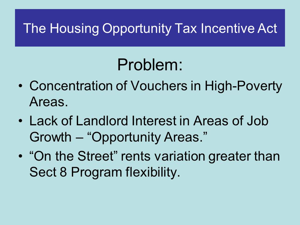 HB2246 The Housing Opportunity Tax Incentive Act – Chicago Low- Poverty Census Tract