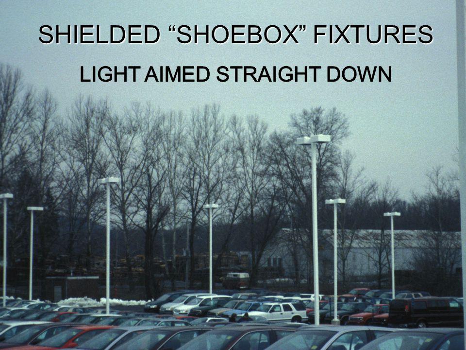 17 FULLY SHIELDED UNSHIELDED STREET LIGHTS