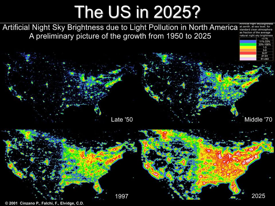 The World at Night 9 The US in 2025