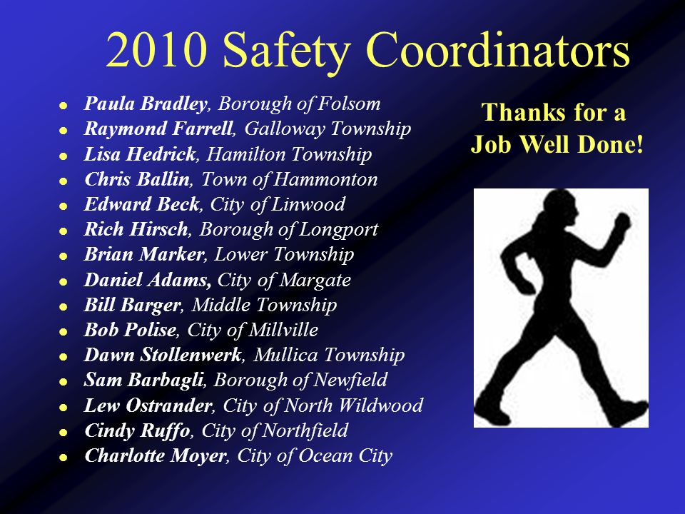 2009 Special Recognition Award Honorable Mentions Keep Up the Good Work.