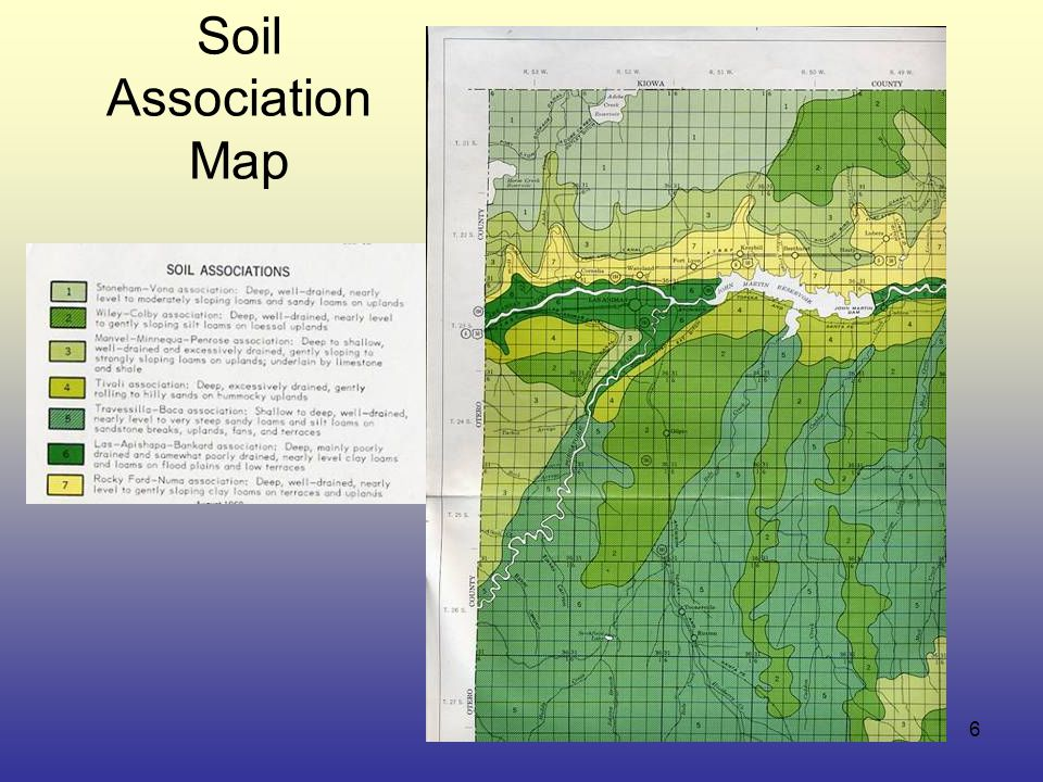 6 Soil Association Map