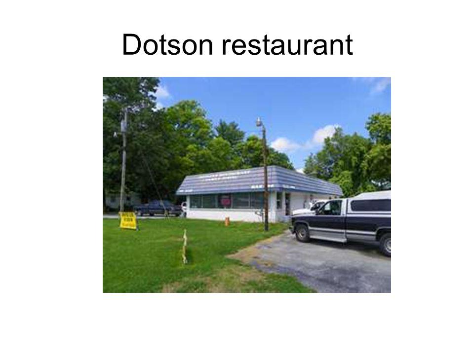 Dotson restaurant