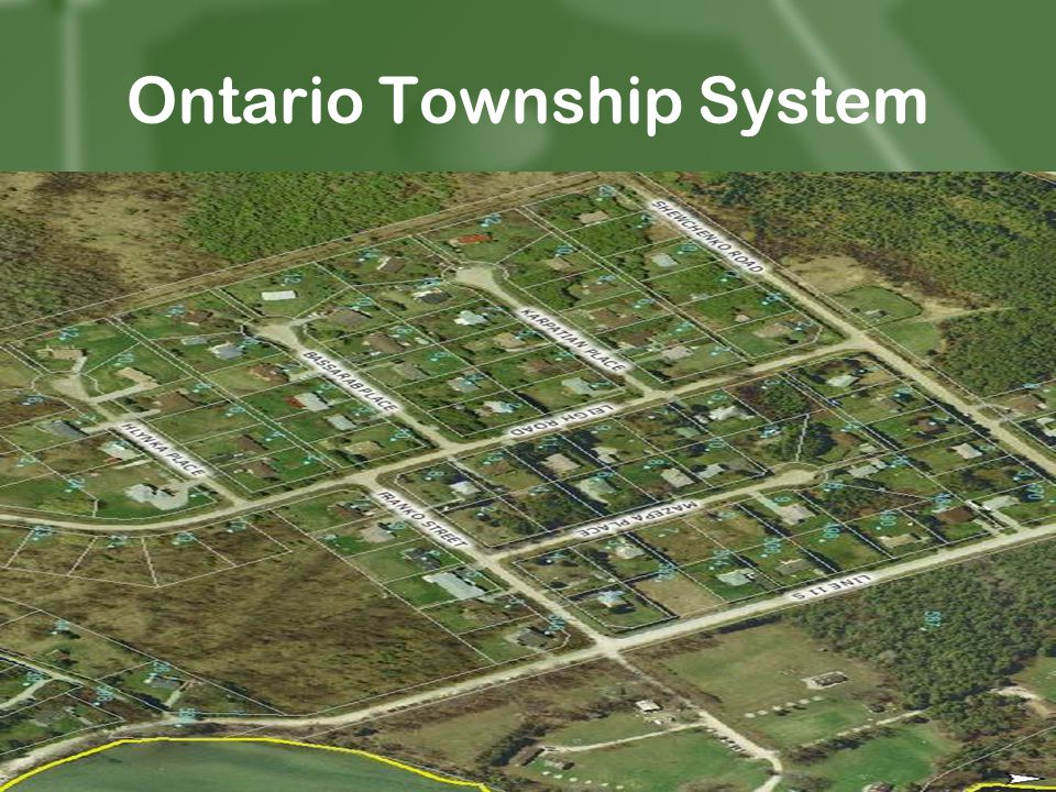 Ontario Township System