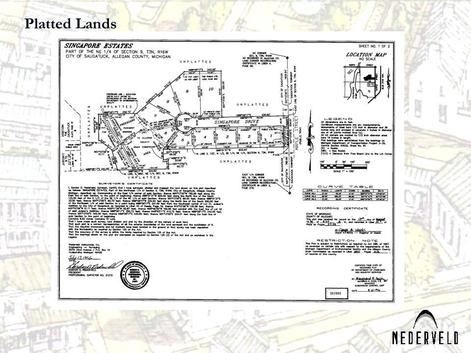 Platted Lands