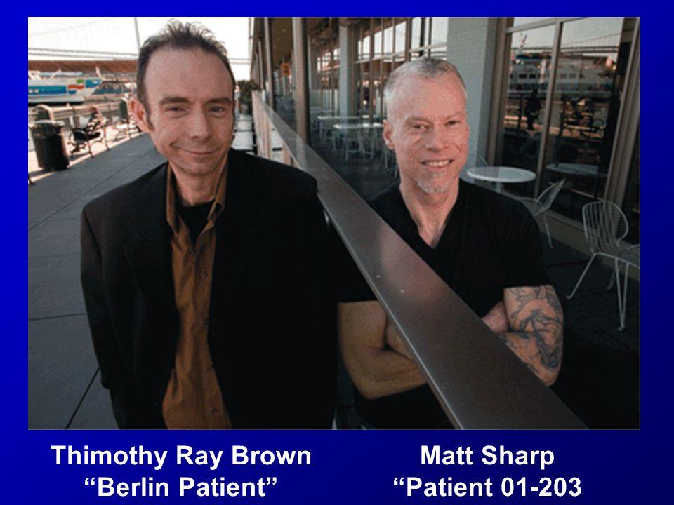 Thimothy Ray Brown Berlin Patient Matt Sharp Patient 01-203