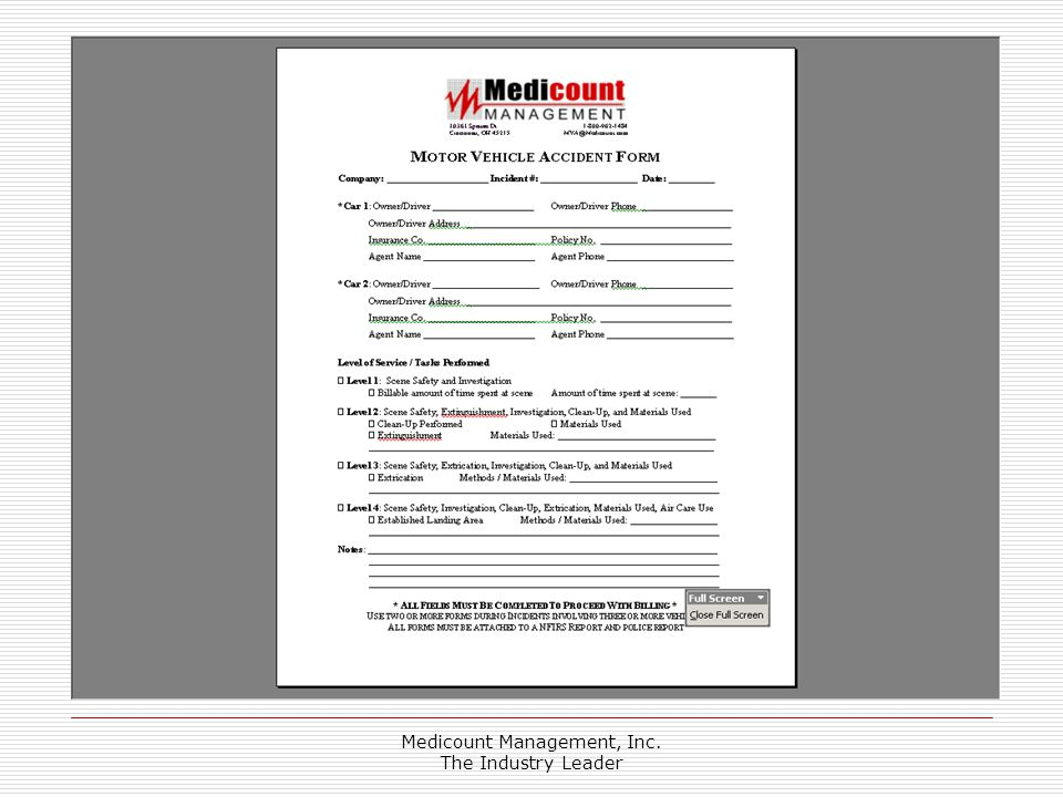 Medicount Management, Inc. The Industry Leader
