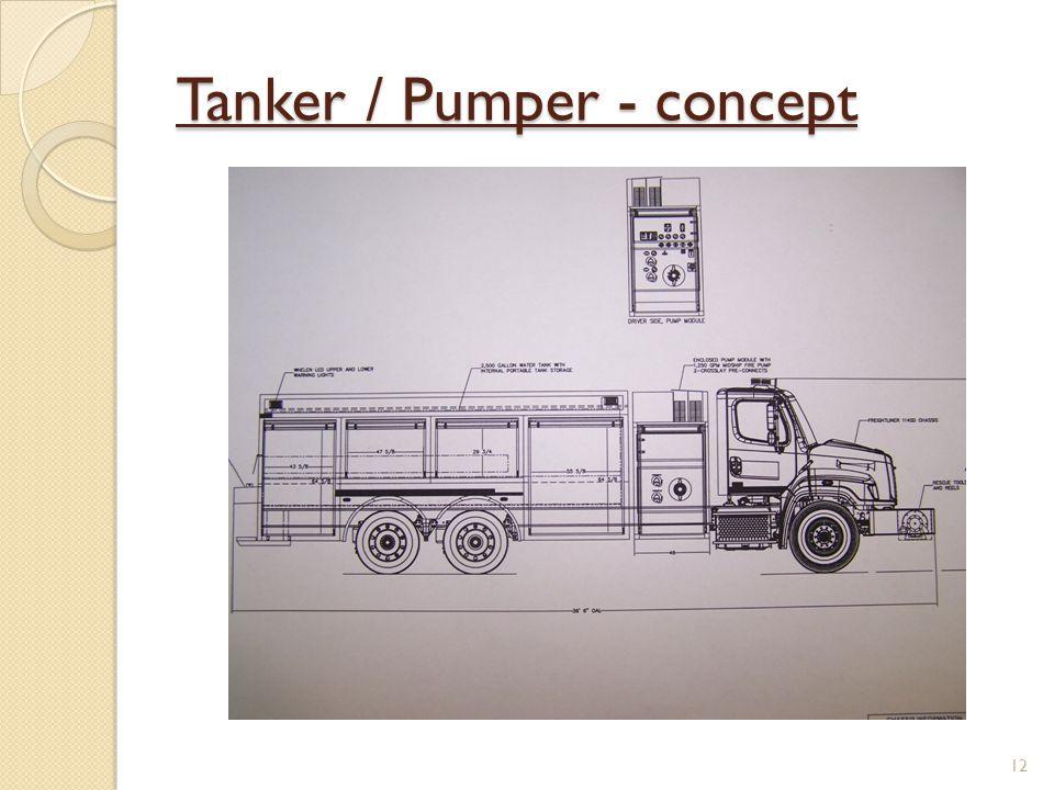 Tanker / Pumper - concept 12
