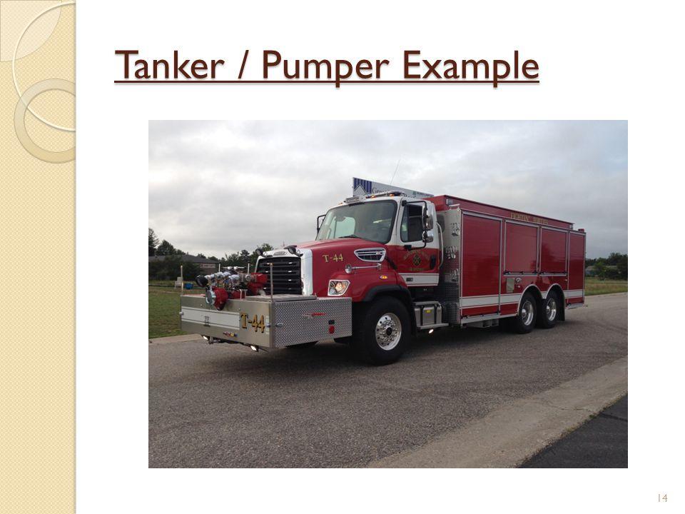 Tanker / Pumper Example 14
