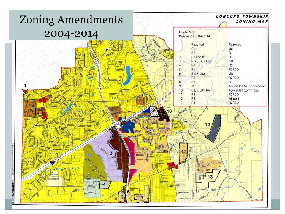 Zoning Amendments 2004-2014