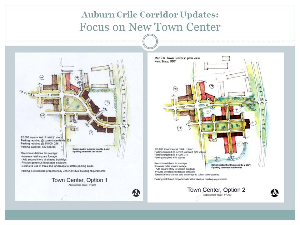 Auburn Crile Corridor Updates: Focus on New Town Center